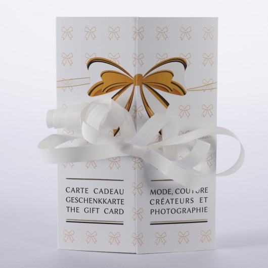 Une magnifique carte cadeau personnalisable