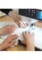 Beginner level sewing course