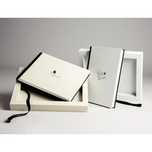 Photobook with Box and Mineral Glass