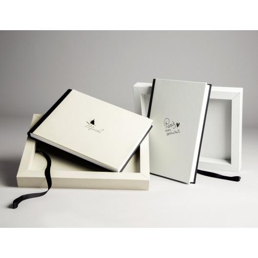 Photobuch mit Box und Mineralglass