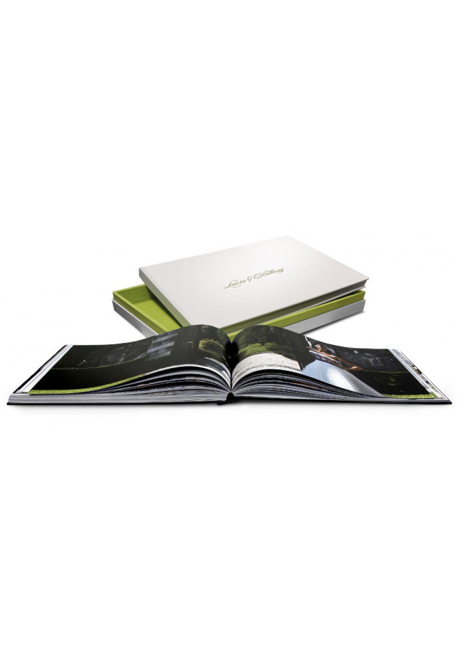 Photobook with a case