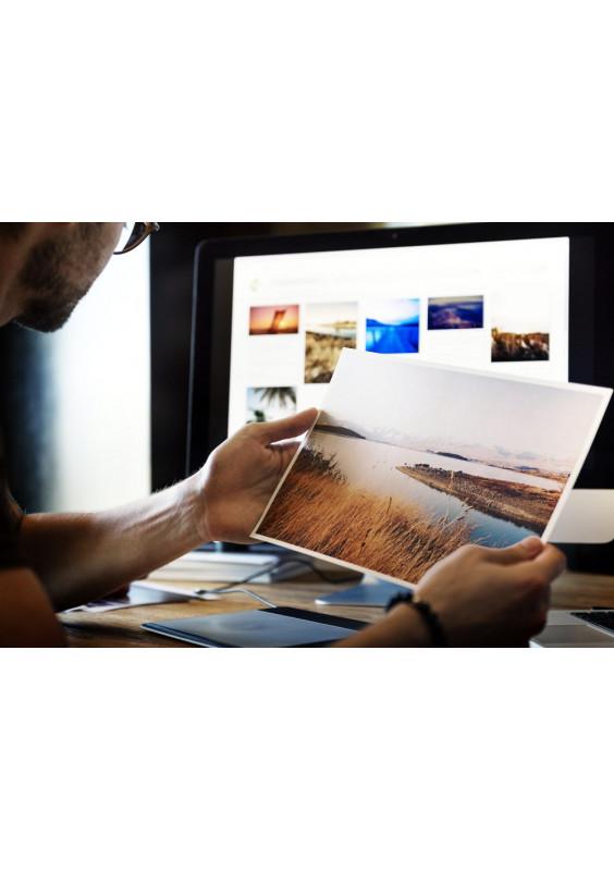 Lange Fotoschulung und Lesung Portfolios in Genf