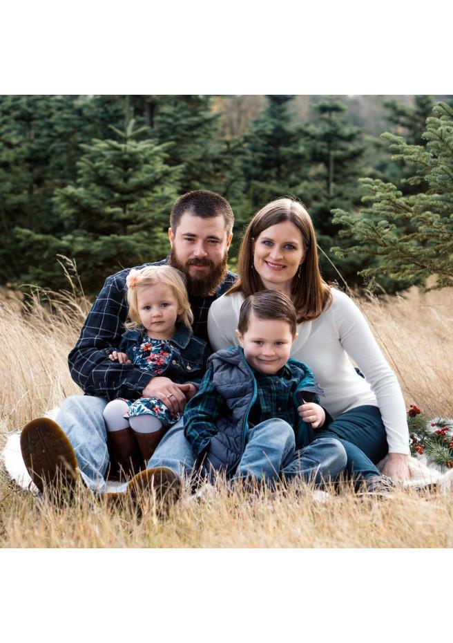 Photographe de famille, en extérieur