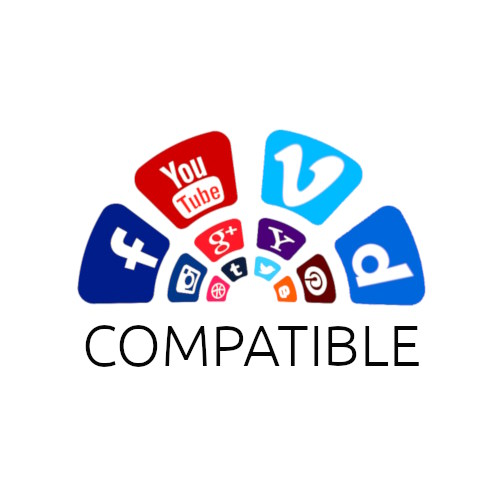 Des vidéos compatibles réseaux sociaux