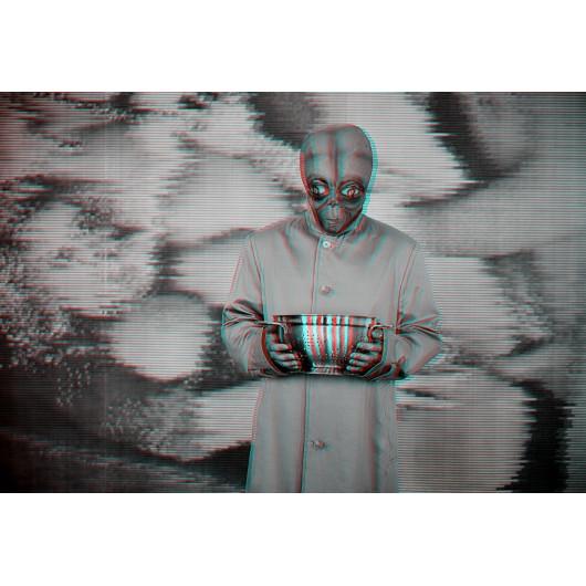 """Kunstfotografie """"3D Alien"""""""