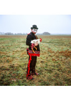 "Retour au Carnaval, ""Chicken Man at the Courir"""