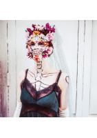 "Retour au Carnaval, ""Mardi Gras Skeleton Bride"""