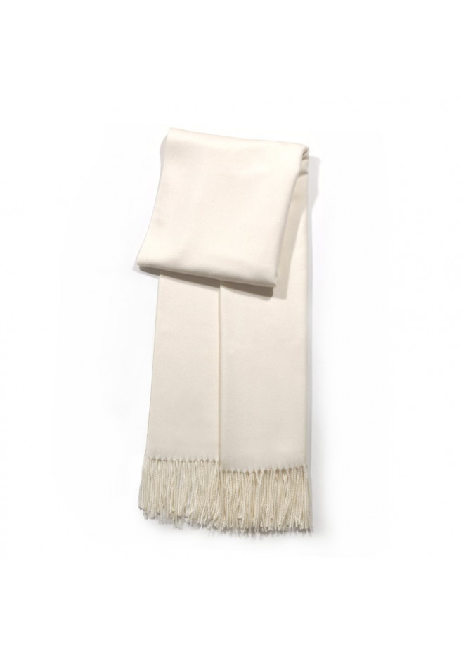 10a592fe5 Big cashmere scarf with twisted fringes
