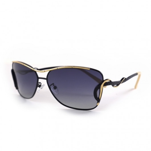 Sunglasses HDCRAFTER with golden interlacing