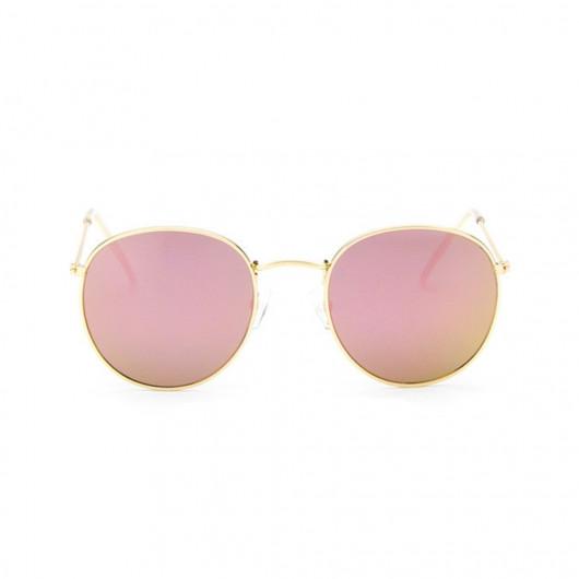 Sonnenbrille rundform und retrostil