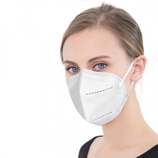 Pack of 10 KN95 masks FFP2 equivalent