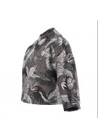 Short jacket lined Monstera jacket