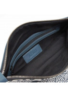 MIU clutch bag in fine Lether and japan inspired pattern